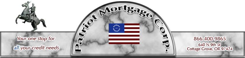 Patriot Mortgage Your One Stop For All Your